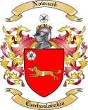 Nowacek Family Crest from Czechoslovakia