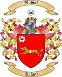 Nowak Family Crest from Poland