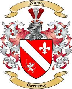 Nowey Family Crest from Germany