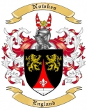 Nowkes Family Coat of Arms from England
