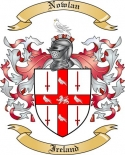 Nowlan Family Coat of Arms from Ireland