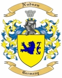 Nudson Family Crest from Germany