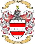 Nuigent Family Crest from Ireland