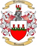 Nunhuser Family Crest from Germany