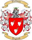 Nuttman Family Crest from England