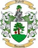 Nyhoff Family Crest from Germany