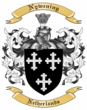Nywening Family Crest from Netherlands