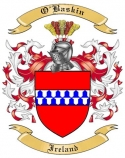 O'Baskin Family Coat of Arms from Ireland
