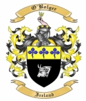 O'Bolger Family Crest from Ireland