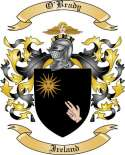 O'Brady Family Crest from Ireland2