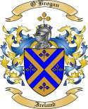 O'Brogan Family Coat of Arms from Ireland