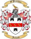 O'Broichen Family Crest from Ireland