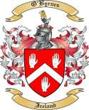 O'Byrnes Family Crest from Ireland