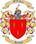 O'Cahan Family Coat of Arms from Ireland