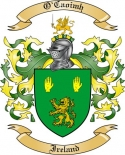 O'Caoimh Family Coat of Arms from Ireland