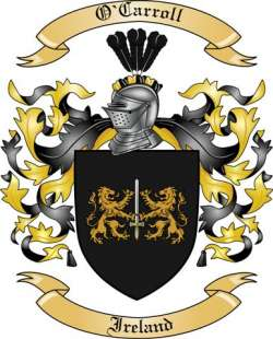 O'Carroll Family Coat of Arms from Ireland