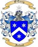 O'Carry Family Crest from Ireland