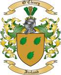 O'Cleary Family Crest from Ireland