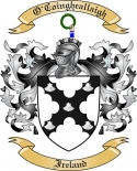 O'Coingheallaigh Family Coat of Arms from Ireland