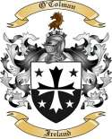 O'Colman Family Crest from Ireland