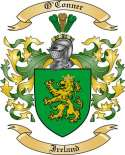 O'Conner Family Coat of Arms from Ireland