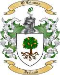 O'Connor Family Coat of Arms from Ireland2