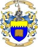 O'Conroy Family Coat of Arms from Ireland
