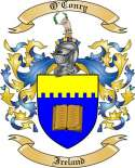 O'Conry Family Coat of Arms from Ireland