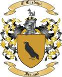 O'Corbane Family Crest from Ireland