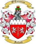 O'Corcoran Family Coat of Arms from Ireland