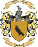O'Corribane Family Coat of Arms from Ireland