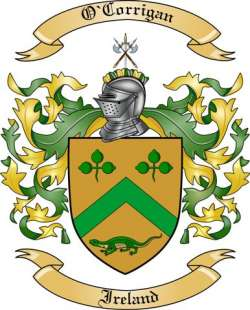 O'Corrigan Family Crest from Ireland
