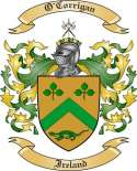 O'Corrigan Family Coat of Arms from Ireland