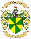 O'Crotaigh Family Coat of Arms from Ireland