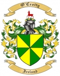 O'Crotty Family Crest from Ireland