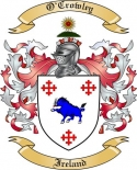 O'Crowley Family Coat of Arms from Ireland