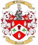 O'Culane Family Coat of Arms from Ireland
