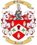 O'Culen Family Coat of Arms from Ireland