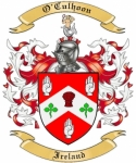 O'Culhoon Family Crest from Ireland