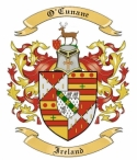 O'Cunane Family Crest from Ireland