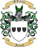 O'Curren Family Coat of Arms from Ireland
