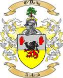 O'Daily Family Coat of Arms from Ireland