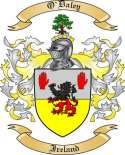 O'Daley Family Crest from Ireland