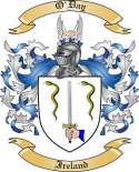 O'Day Family Coat of Arms from Ireland