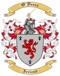 O'Deere Family Coat of Arms from Ireland