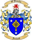 O'Develin Family Coat of Arms from Ireland