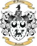 O'Devine Family Crest from Ireland2