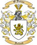 O'Devine Family Crest from Ireland