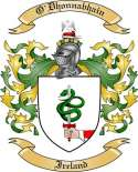 O'Dhonnabhain Family Crest from Ireland