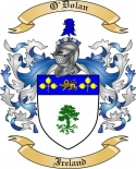 O'Dolan Family Crest from Ireland2